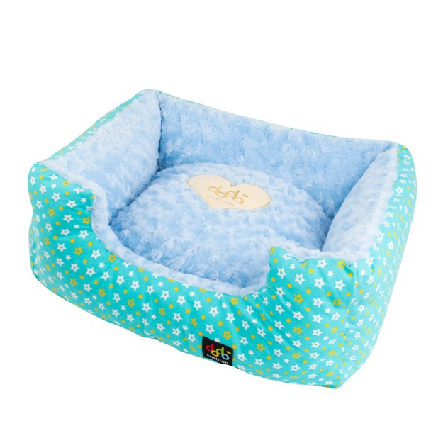 Product Detail - ALPHA DOG SERIES Square Star Cushion  #Blue - image 0
