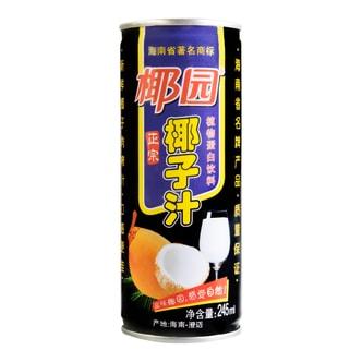 椰园 正宗椰子汁 245ml