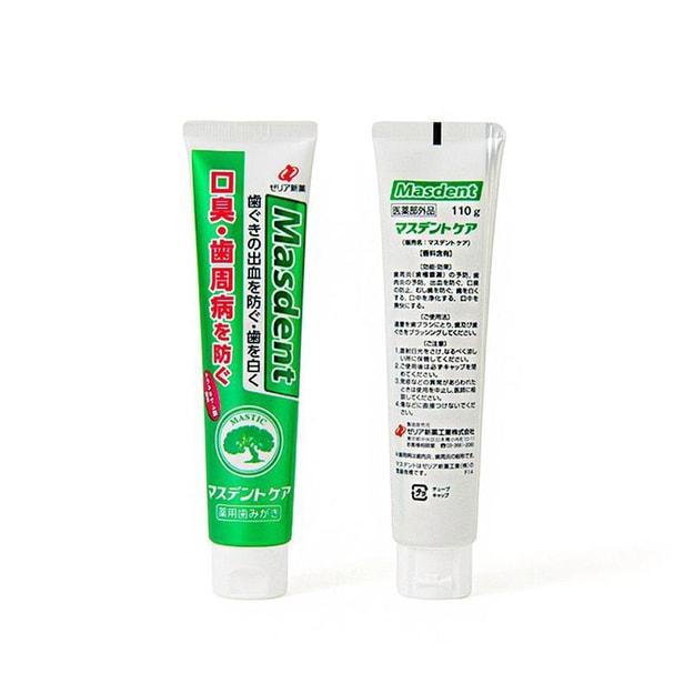 Product Detail - JAPAN ZERIA SHINYAKU Toothpaste 110g - image 0