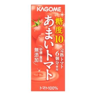 日本KAGOME 100%纯正无添加美容抗氧化番茄汁 200ml