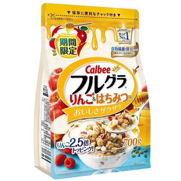 Product Detail - CALBEE Furugura Apple And Honey Taste 700g - image 0