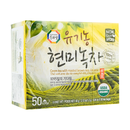 韩国SURASANG三进牌 有机糙米绿茶 50pc