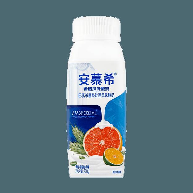 商品详情 - 安慕希 希腊风味酸奶 青桔葡萄柚青稞味 单瓶装 200g - image  0