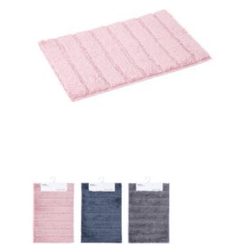 Miniso Microfiber Fine Stripe Floor Mat Color ship randomly