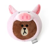 [韩国直邮]LINE FRIENDS 小猪布朗熊暖手宝