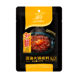 DEZHUANG Deyimingchu Spicy Hot Pot Sauce (Mid) 300g