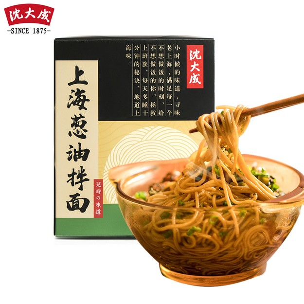 Product Detail - SHENDACHENG Noodles Mixed with ScallionOil and Soy Sauce 215g - image 0