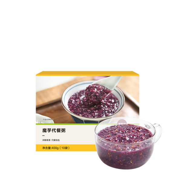 Product Detail - YANXUAN Konjac Meal Replacement Porridge Purple sweet potato Flavor 400g - image  0
