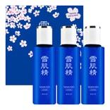 日本KOSE高丝 雪肌精 化妆水超值3件套组 100ml*3 樱花限定款 范冰冰推荐