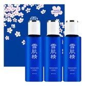 KOSE Sekkisei Lotion Trio Sakura Special Set 100ml x3