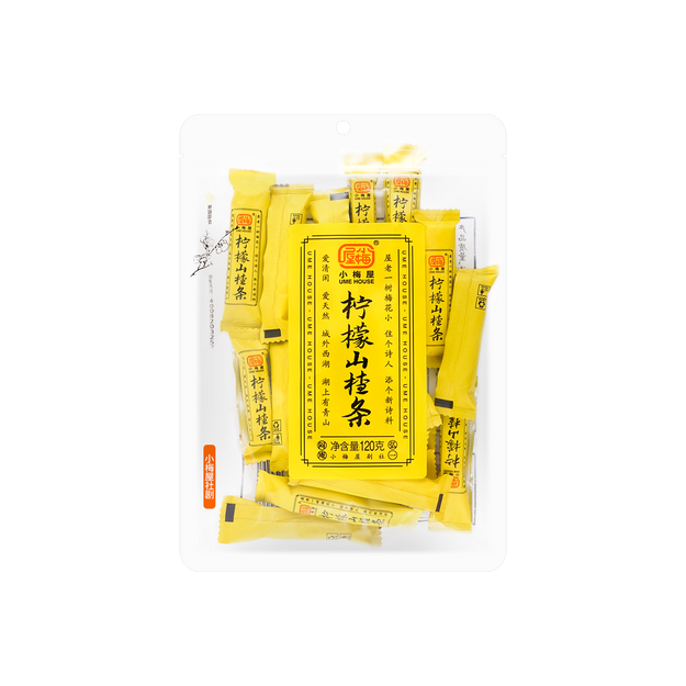 商品详情 - 【国货优选】小梅屋 柠檬山楂条 120g - image  0