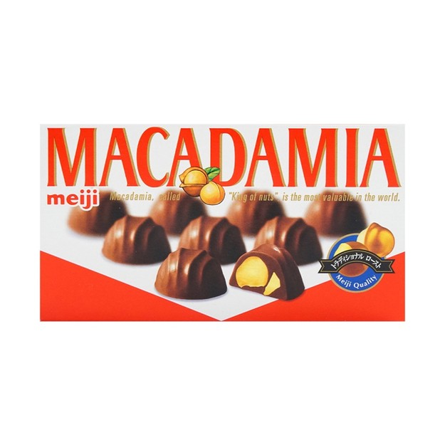 商品详情 - 日本 MEIJI 明治 夏威夷豆巧克力 64g - image  0