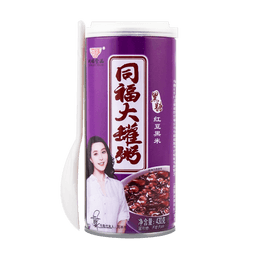TONGFU Red Bean And Black Rice Porridge With Brown Suger 430g