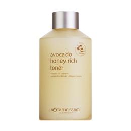 【EXP Date 01/16/2021】BOTANIC FARM Avocado Honey Rich Toner 170ml