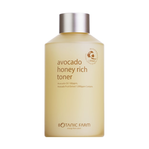 Product Detail - BOTANIC FARM Avocado Honey Rich Toner 170ml - image 0