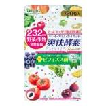 日本ISDG医食同源 232种果蔬 有机果蔬发酵 减肥瘦身燃脂爽快酵素 120粒入 55.8g