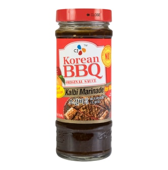 CJ Korean BBQ Original Sauce Kalbi Marinade for Ribs 480g