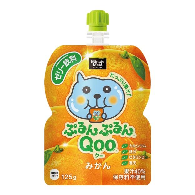 商品详情 - 美汁源 酷儿 果冻饮料 橘子味 125g - image  0