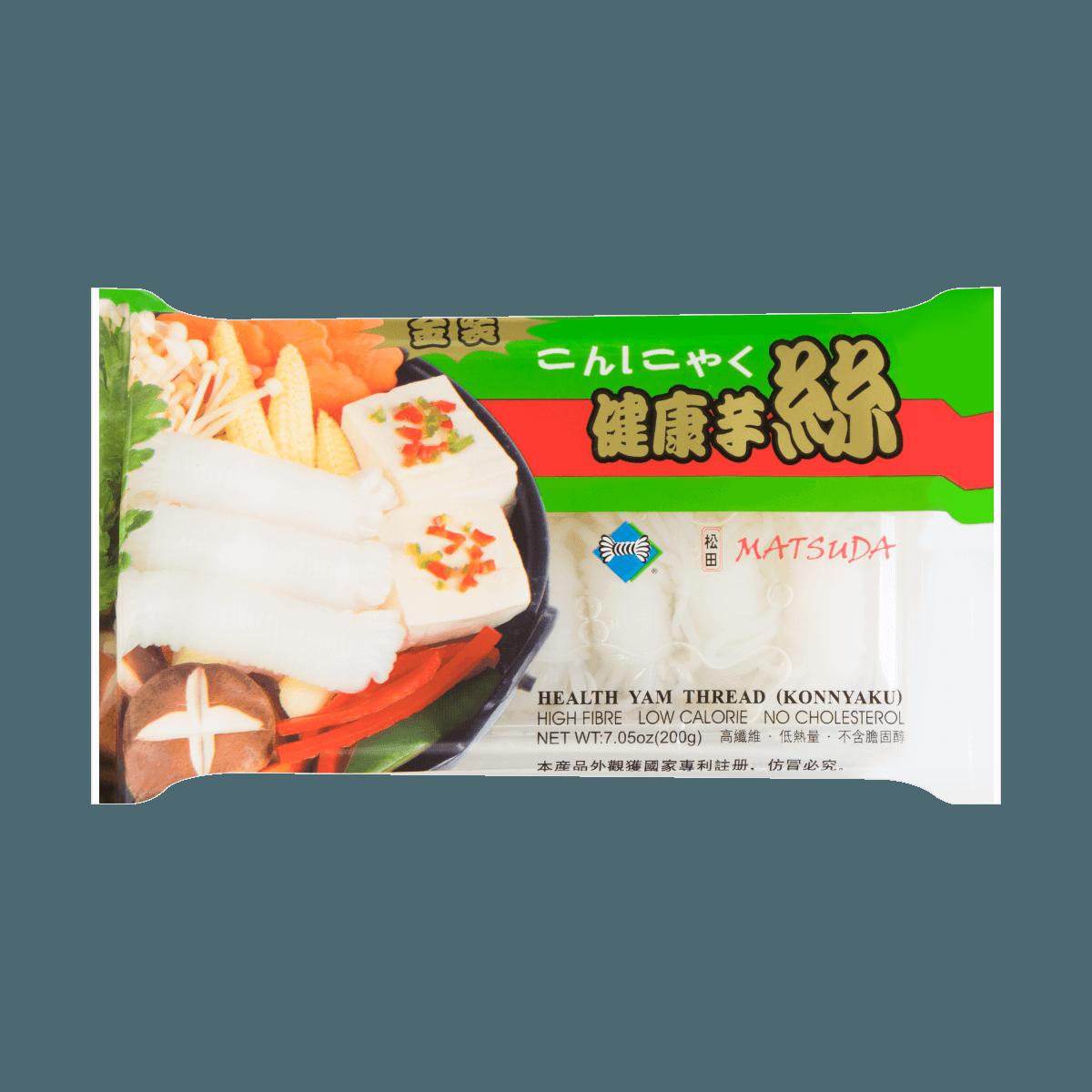 松田MATSUDA 金装健康魔芋丝 200g 怎么样 - 亚米网