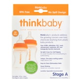 THINKBABY Twin Pack - Stage A Baby Bottle Under 6 Months 160ml