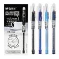 [中国直邮]晨光文具(M&G)热可擦技术可擦中性笔 / 啫喱笔 AKP61115 黑色笔芯 0.5mm 盒装 12支/盒