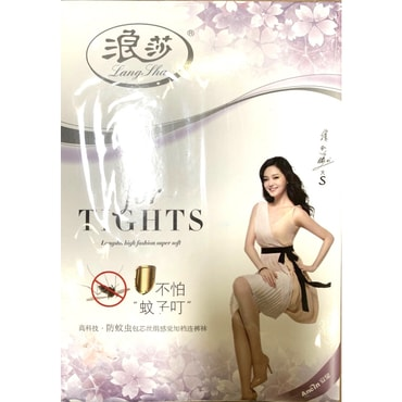 Langsha Lady Tight Stocking Anti-Mosquito 1 Pair Black