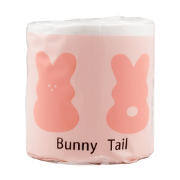 Bunny Tail toilet paper tissue 2ply 500 sheets 1 roll