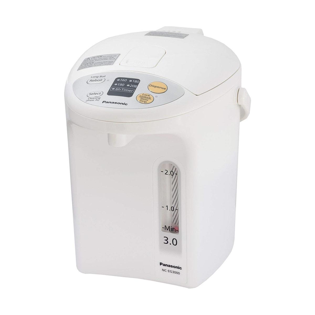 日本PANASONIC松下 全自动智能安全保温煮水器 3L NC-EG3000 怎么样 - 亚米网