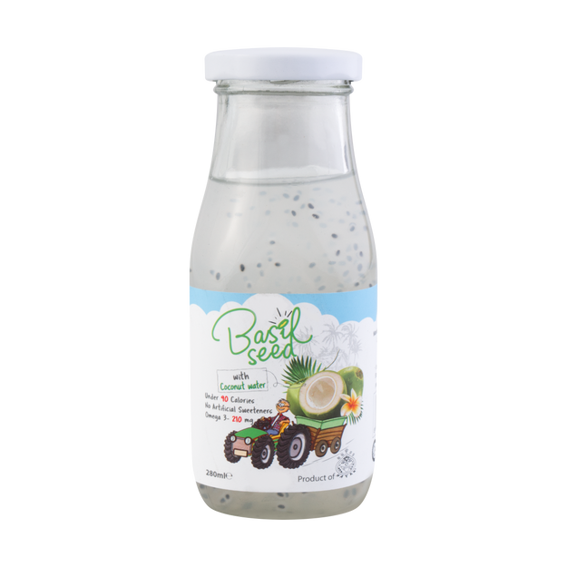 Product Detail - Mayan Basil Seed Fruit Drinks Coconut 280ml - image 0