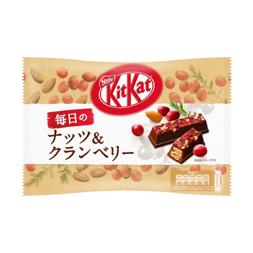 Nestle KitKat Nuts & Cranberry Chocolate Wafer Cookie  135g