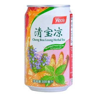 新加坡YEO'S杨协成 无添加清宝凉草本凉茶 300ml