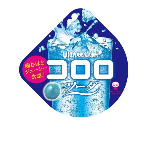 商品详情 - 【特价回馈】【日本直邮】UHA悠哈味觉糖 全天然果汁软糖 苏打味 40g【赏味期限:2021.09】 - image  0
