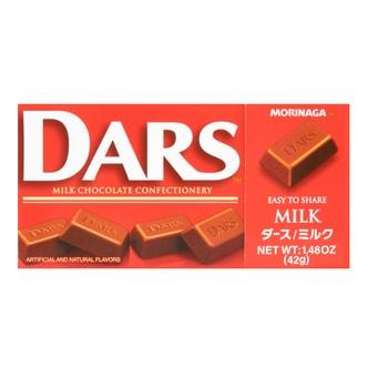 日本MORINAGA森永 DARS 丝滑细腻牛奶巧克力 42g
