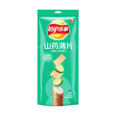 LAY'S Yam Chips Cucumber Flavor 80g