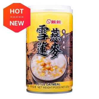 台湾亲亲 典选系列 雪莲燕麦粥 320g