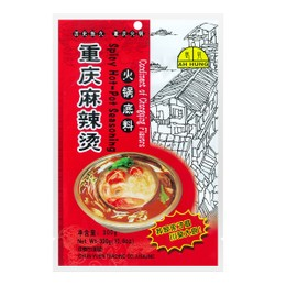 AH HUANG Spicy Hot Pot Seasoning 300g