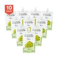 韩国DR.LIV 低糖低卡蒟蒻果冻 绿葡萄味 150g x10个