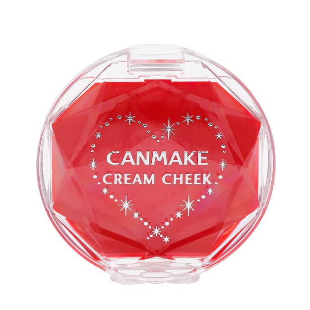 Product Detail - CANMAKE Cream Cheek #14AppleCreamRed 1pc - image 0
