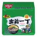 NISSIN Demae Ramen Noodle with Soup Base Tonkotsu Pork Flavor 500g