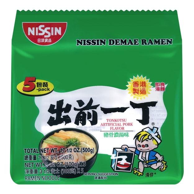 Product Detail - NISSIN Demae Ramen Noodle with Soup Base Tonkotsu Pork Flavor 500g - image 0