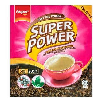 新加坡SUPER超级 五合一卡琪花蒂玛胶原蛋白咖啡 20条入 440g