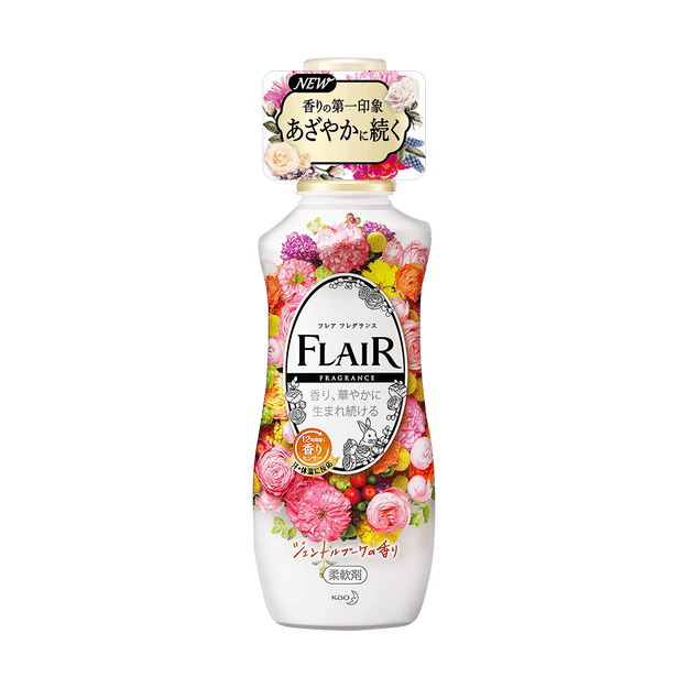 Product Detail - FLAIR Fabric Softener Fragrance #Fragrance Gentle Bouquet 540ml - image  0