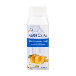AMBROSIAL Greek Yogurt Peach Oat Flavor 200g