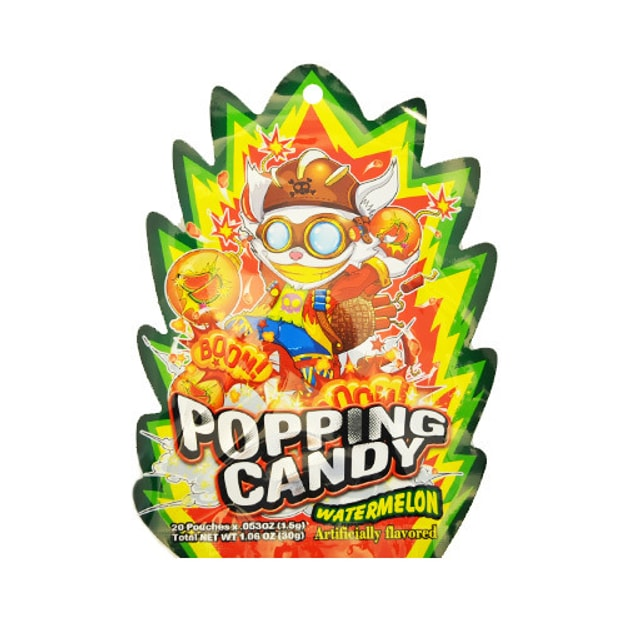 Popping Candy Watermelon 20pc