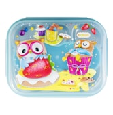 INP PORORO Lunch Box Set with Pouch Blue