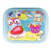 韩国INP PORORO 儿童餐盒带小袋 蓝色