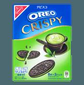 日本NABISCO纳贝斯克 奥利奥 巧轻脆薄片夹心饼干 抹茶味 8枚入 154g