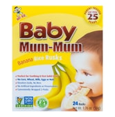 Hot Kid Baby Mum-Mum Banana Rice Rusks 50g 6M+