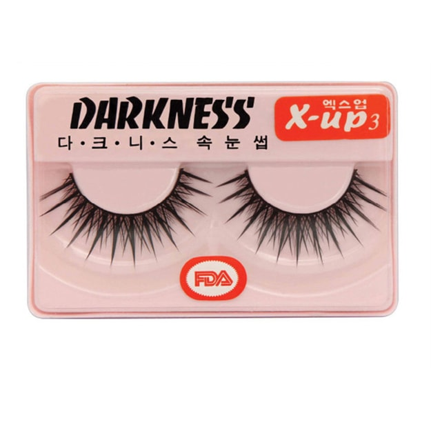 Product Detail - DARKNESS False Eyelashes  #Xup3 1Pair In 1Box - image 0