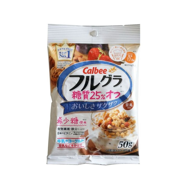 Product Detail - CALBEE Fruit Wheat Cereal 25% Sugar and Fat Reduction 50g - image 0